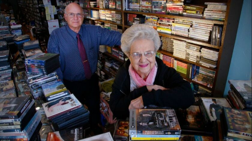 Guy Hanford and his mother, Winnie, have owned and operated Kensington Video since 1984. But because of changing consumer habits, they have decided to close the store on Feb. 28.
