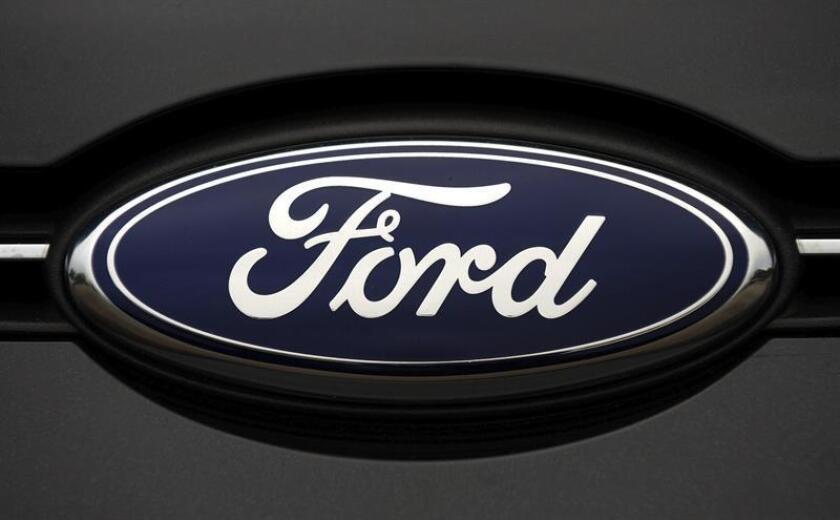 Vista de un logotipo de Ford. EFE/Archivo