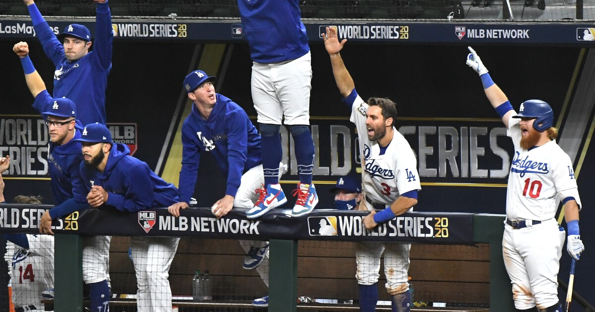 The Sports Report: Dodgers win Game 1 of World Series