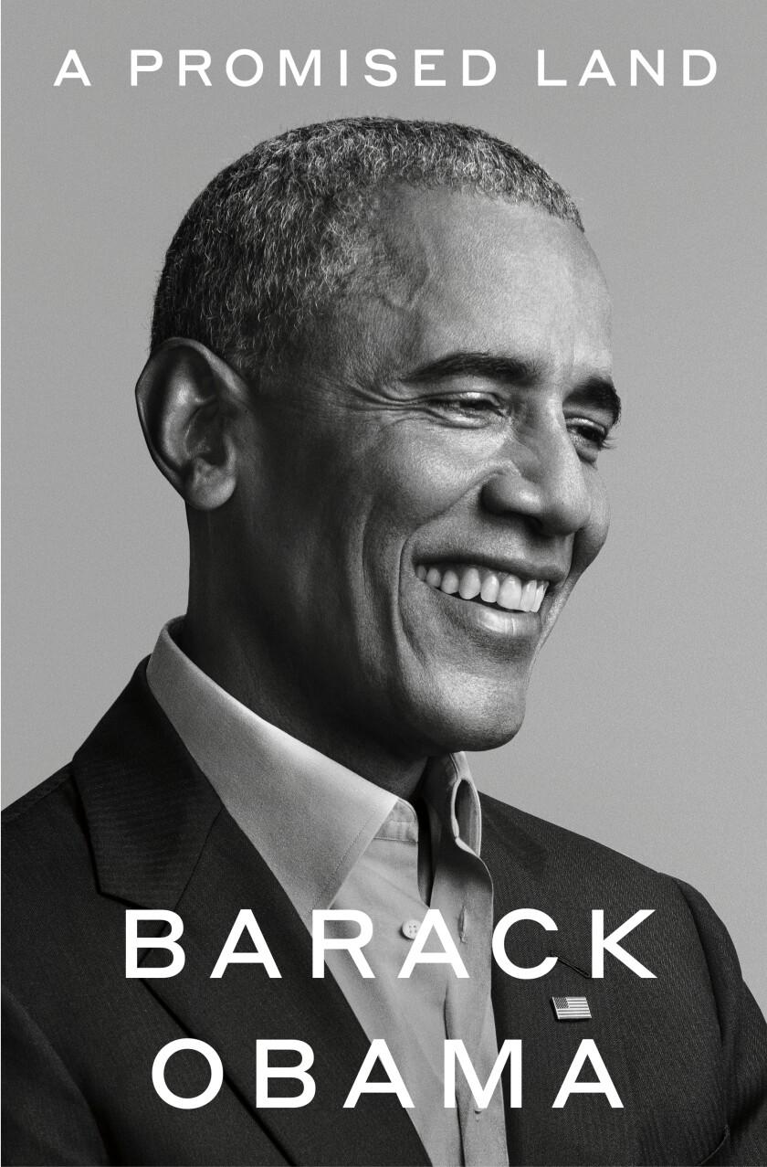 """Esta foto proporcionada por Random House muestra la portada de """"A Promised Land"""","""