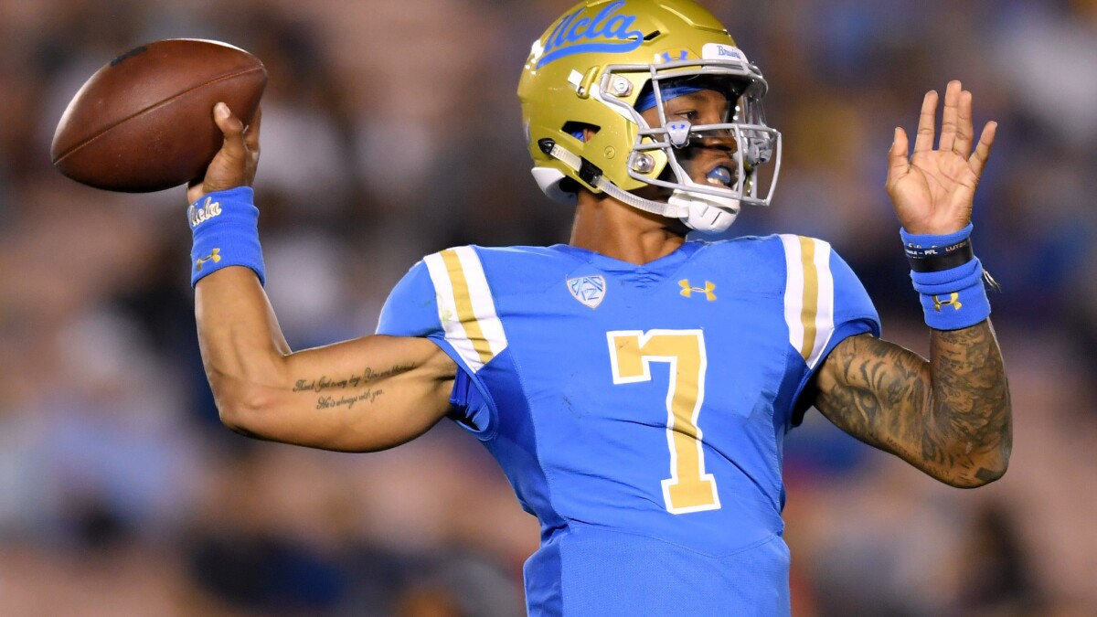 Dorian Thompson-Robinson listed as UCLA's starting quarterback