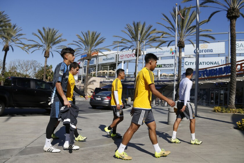 At the Galaxy's school, soccer is hardly the only subject