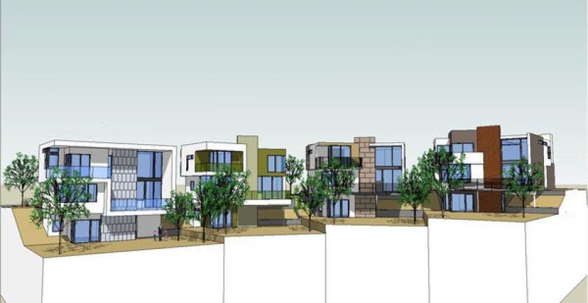 Scandia Way houses