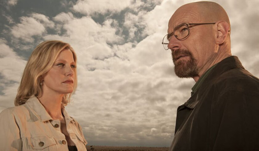 "Bryan Cranston and Anna Gunn star in AMC's ""Breaking Bad."" You could see an awful lot of them next week."