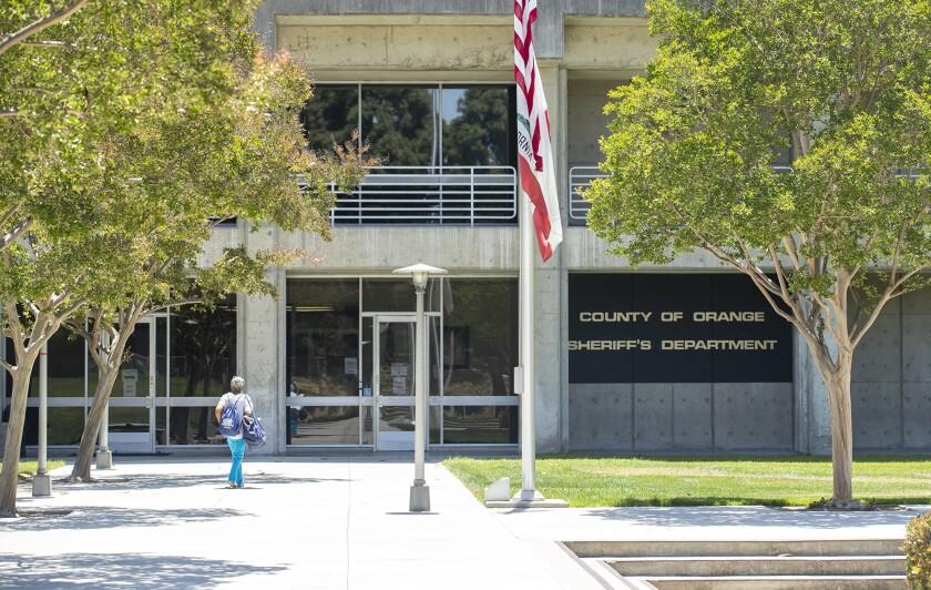 Orange County sheriff's headquarters in Santa Ana