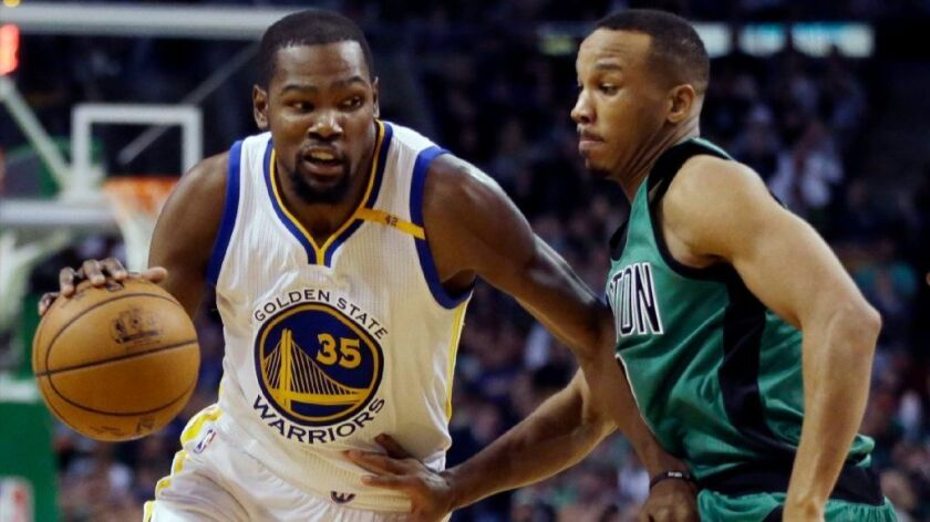 NBA: Golden State Warriors' 18-0 run puts away Boston Celtics