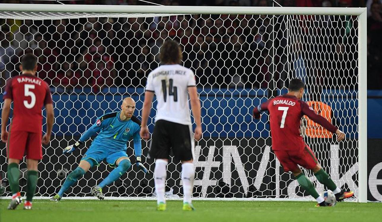 Ronaldo + Portugal= frustración