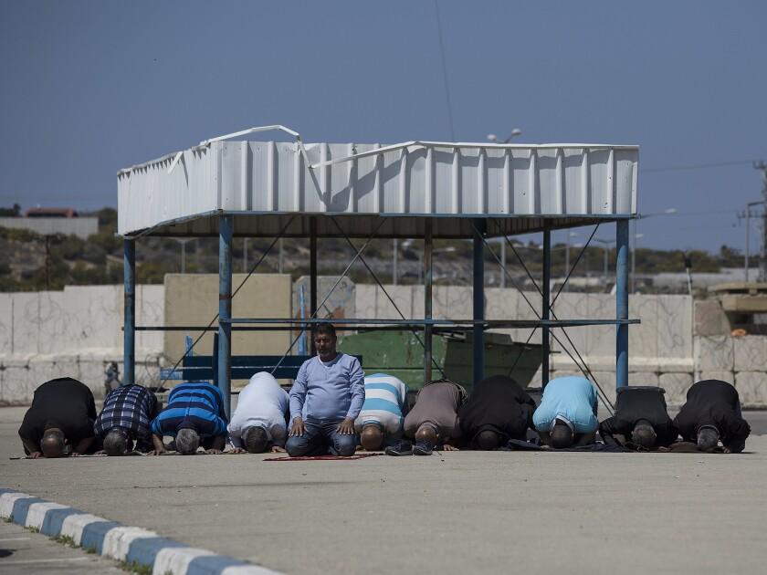 Israel Palestinians Gaza Workers