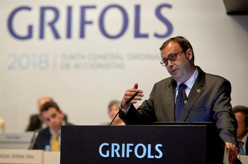 El consejero delegado de la multinacional de hemoderivados Grifols, Raimon Grifols. EFE/Archivo