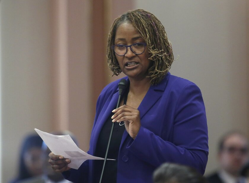 State Sen. Holly Mitchell, D-Los Angeles, has pushed for several reforms of the criminal justice system. Now she's focused on underage prostitutes.