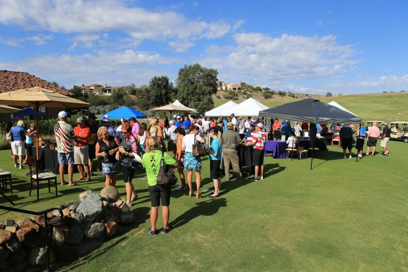 """This year's """"Tee It Up for the Troops"""" golf fundraiser will be Aug. 31 at the Santaluz Club. Photos courtesy of Krystal Productions"""