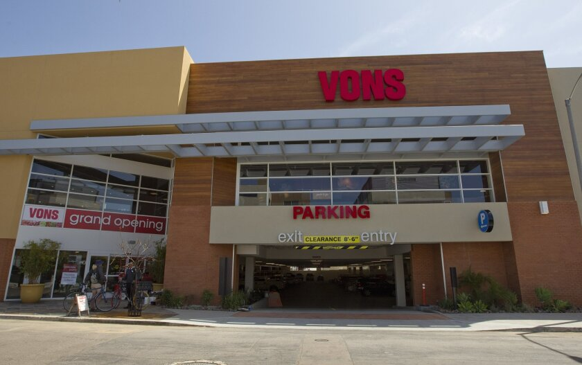 The Vons in Mission Hills will reopen Thursday after 11 months of demolition and construction. It's three times the size of the old building and has a parking garage.