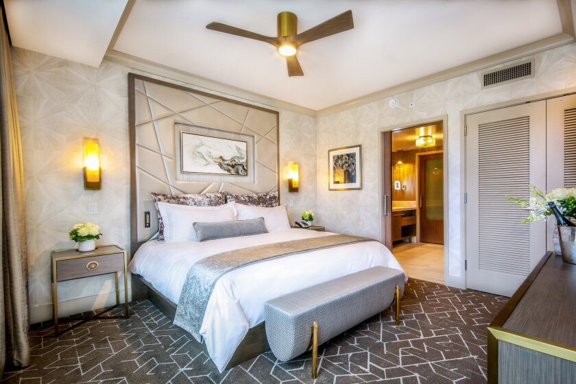 The all-suites Willows Hotel & Spa at Viejas has contemporary furnishings in a variety of designer finishes.