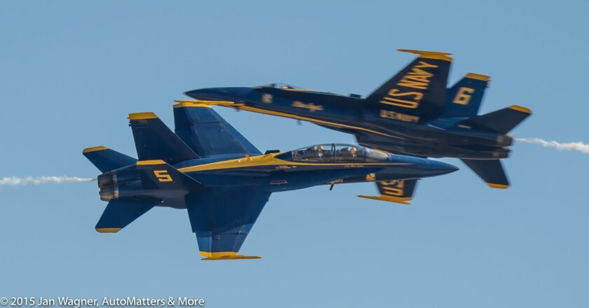 Blue Angels passing a little too close for comfort
