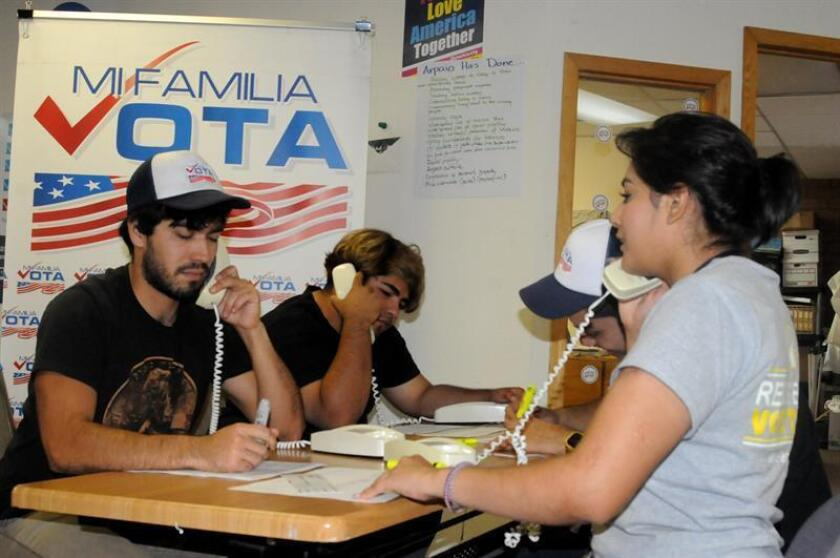 Un análisis preliminar muestra que una vez más los latinos sentarán un nuevo récord en el registro de votantes en las presentes elecciones.