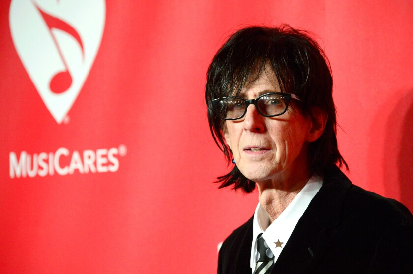 Ric Ocasek at the 2015 MusiCares Person of the Year Gala honoring Bob Dylan