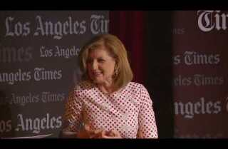 Ideas Exchange: Getting good sleep is more important than sharing a bed with your partner, says Arianna Huffington