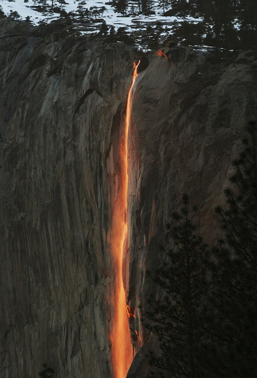 Yosemite's 'firefall' glow lasts only two weeks. Here's how to see it