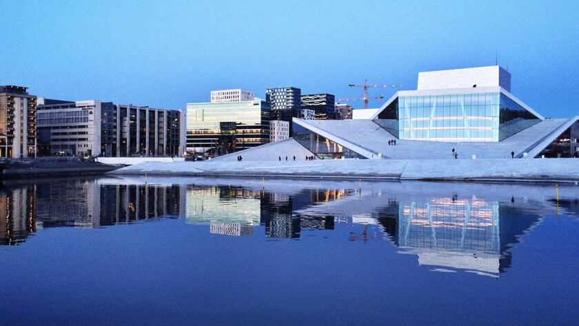 You can fly round trip from LAX to Oslo for $697 on Scandinavian. It is for late summer through early spring travel.