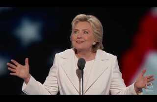 Watch Hillary Clinton's full Democratic convention speech