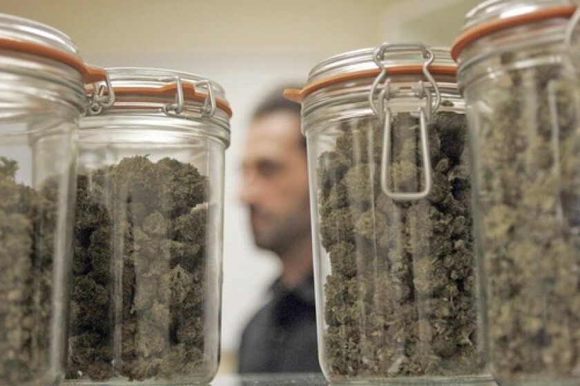 Counterfeit pot products fuel black market for California