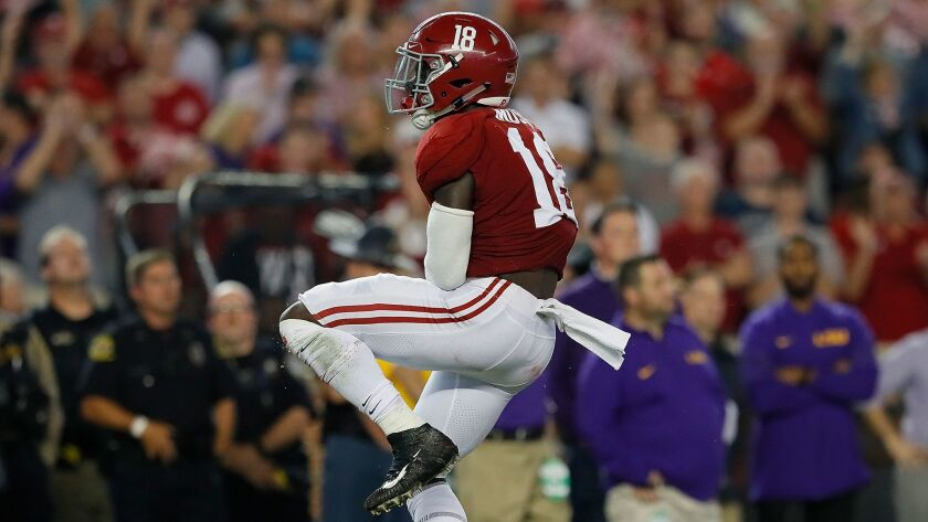Freshman linebacker Dylan Moses has been thrust into Alabama's starting lineup after a slew of injuries.