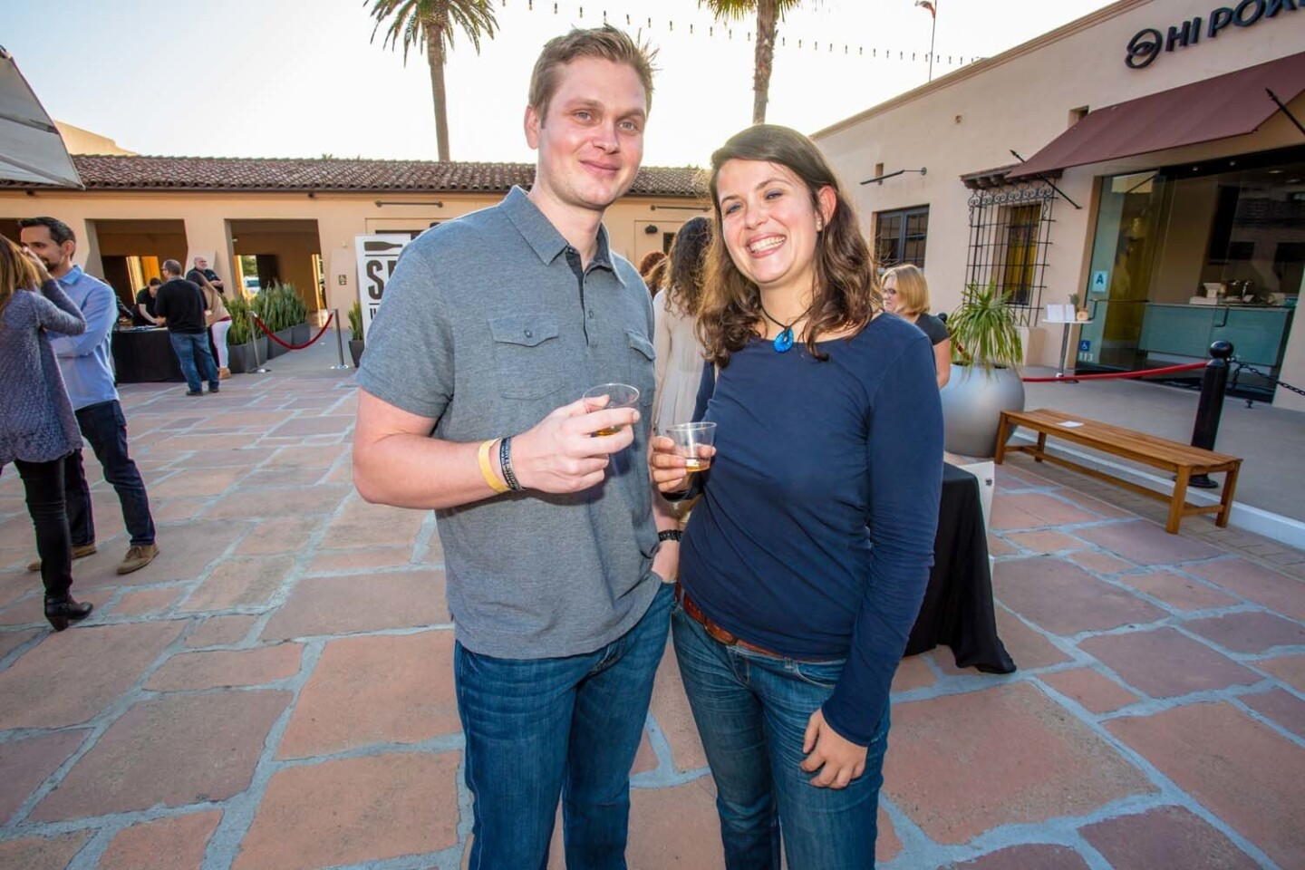 Some of San Diego's best urban wineries showed out for Sip the City, a kick-off event for San Diego Urban Wine Week, on Thursday, June 2, 2017.
