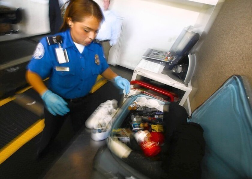 TSA asked to reconsider its move to allow small knives on planes