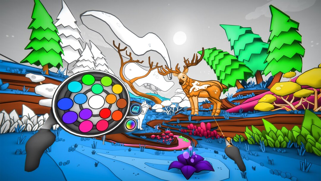 "Get lost in a virtual, interacting coloring book in ""Color Space."""
