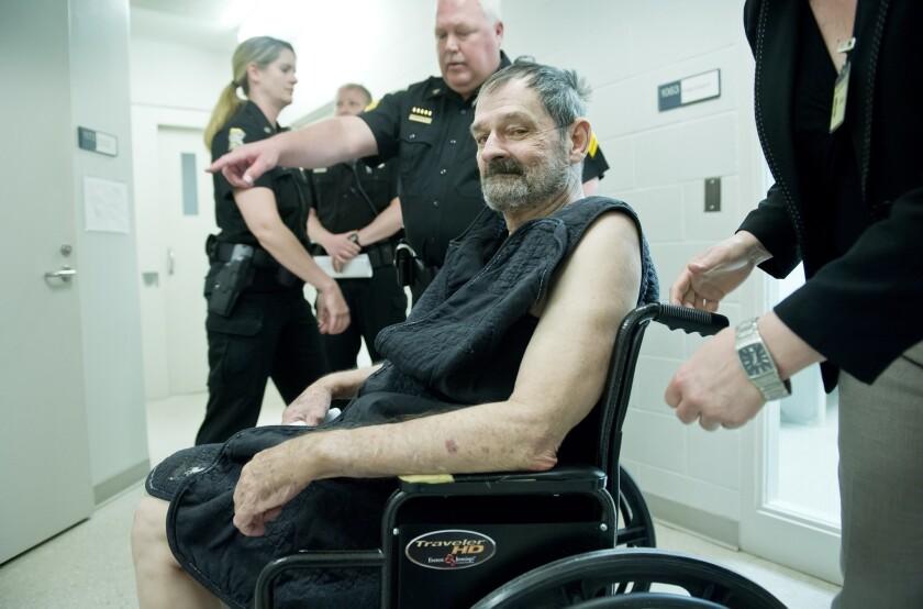 Suspect in Jewish center shootings in Kansas