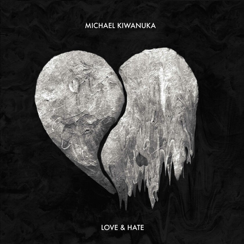 """This CD cover image released by Interscope/Polydor shows """"Love & Hate,"""" by Michael Kiwanuka. (Interscope/Polydor via AP)"""