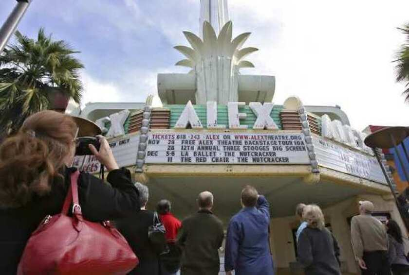 THe nonprofit Glendale Arts is kicking off a new fundraising campaign for operations at the Alex Theatre in Glendale.