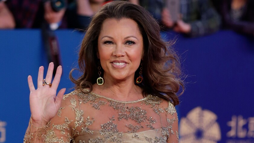 Actress-singer Vanessa Williams, pictured in April, has married Jim Skrip.