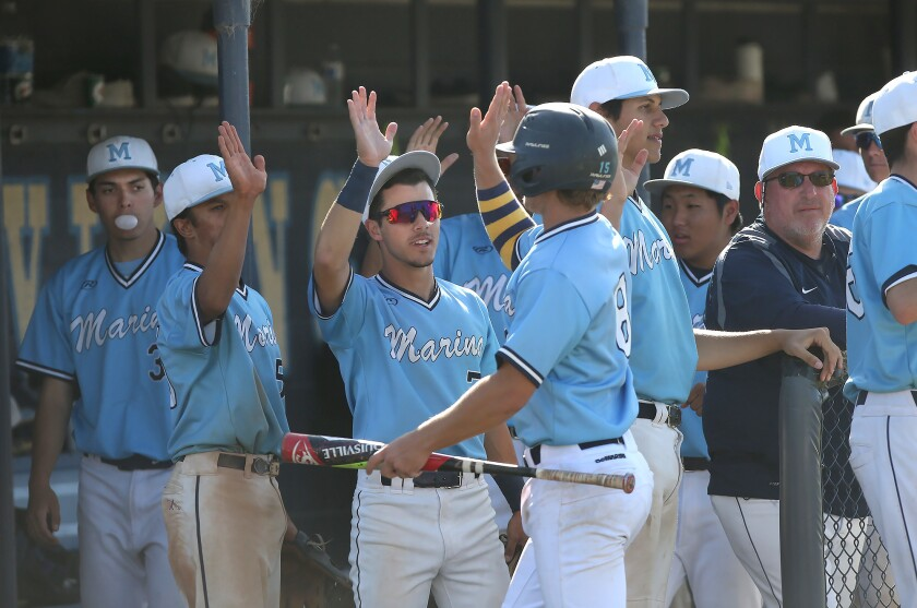 Photo Gallery: Newport Harbor vs. Marina in baseball