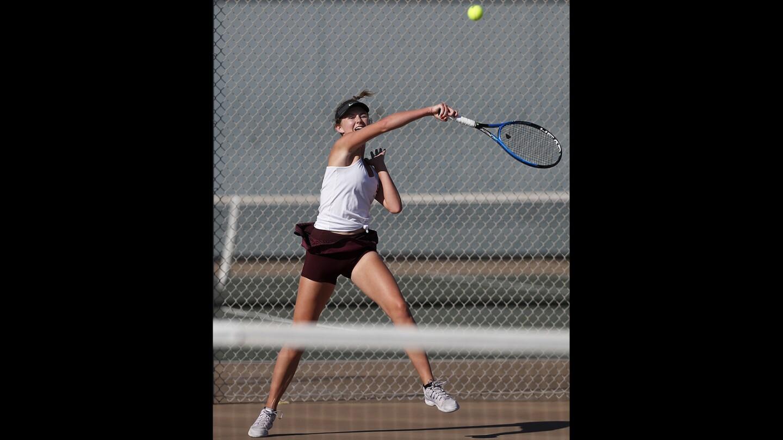 Photo Gallery: Laguna Beach vs. Edison in girls' tennis