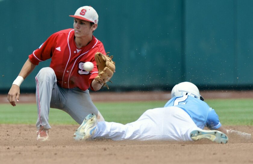 Shown in this 2013 photo, N.C. State's Trea Turner was the Padres' first-round pick on Thursday in Major League Baseball's amateur draft.