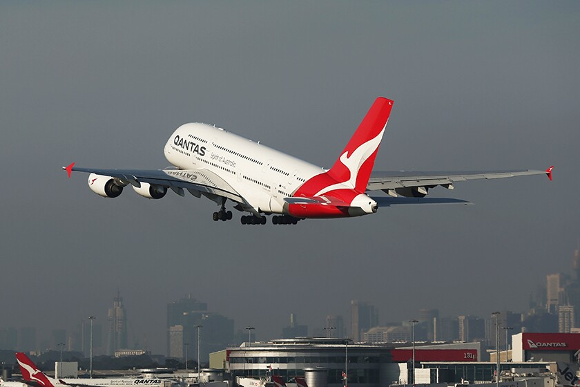 Qantas said it was altering its London to Perth, Australia, routes to avoid Iranian and Iraqi airspace until further notice.