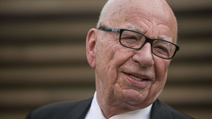 Rupert Murdoch is executive chairman of 21st Century Fox.