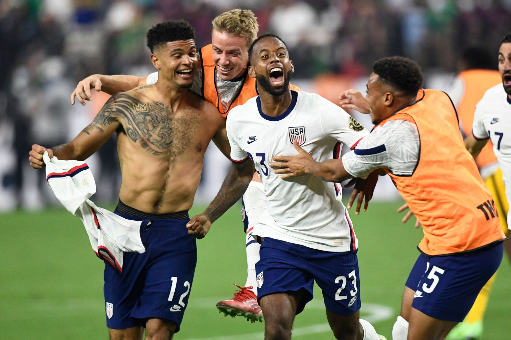 How did the USA vs Mexico CONCACAF Gold Cup 2021 Final go?
