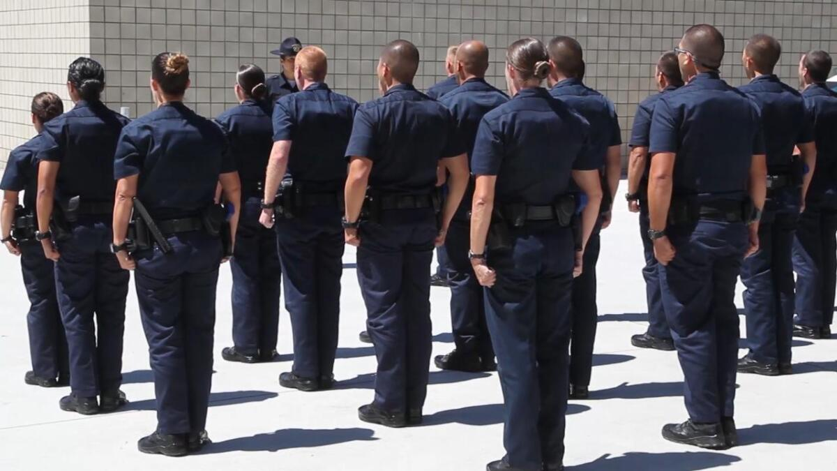 When police agencies look to hire, they face new realities