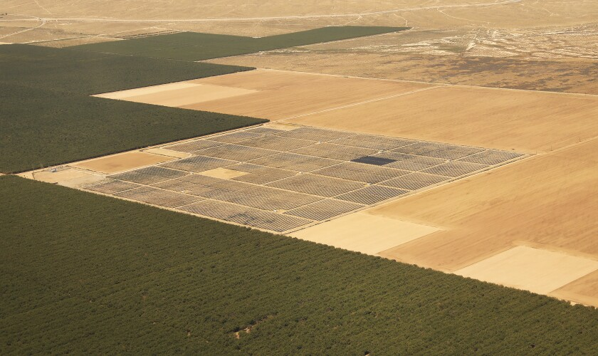 Maricopa West solar project