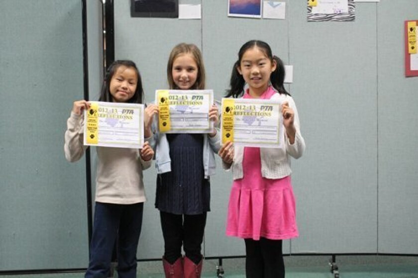 Music Composition: Audrey Chan, Valerie Katritch, Ellie Yan, in grade 4