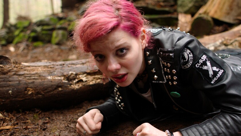 "Chloe Levine in the film ""The Ranger."""