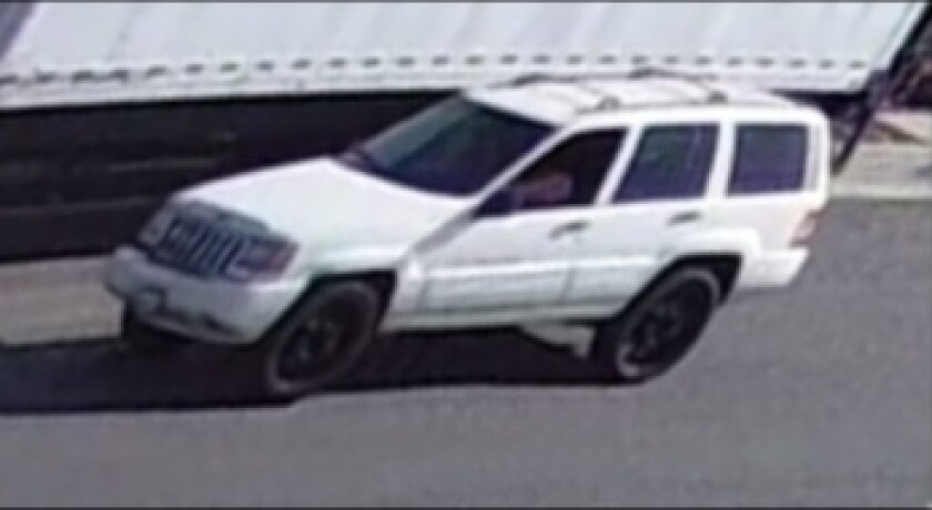 White Jeep Grand Cherokee connected to animal cruelty investigation