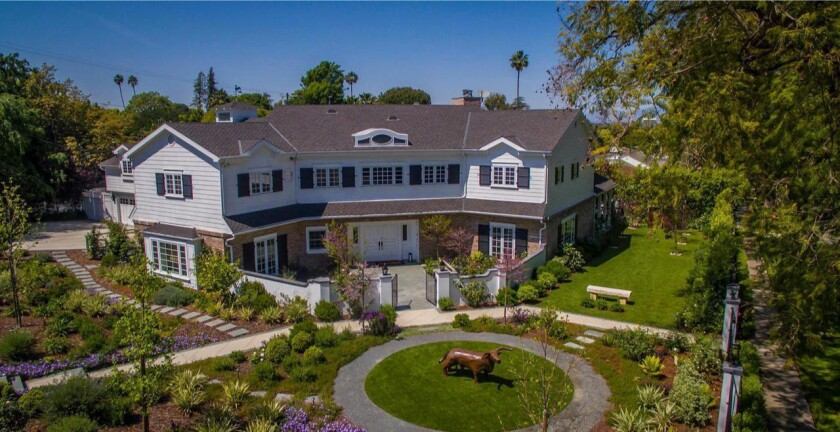 Jonathan Littman's Sherman Oaks estate