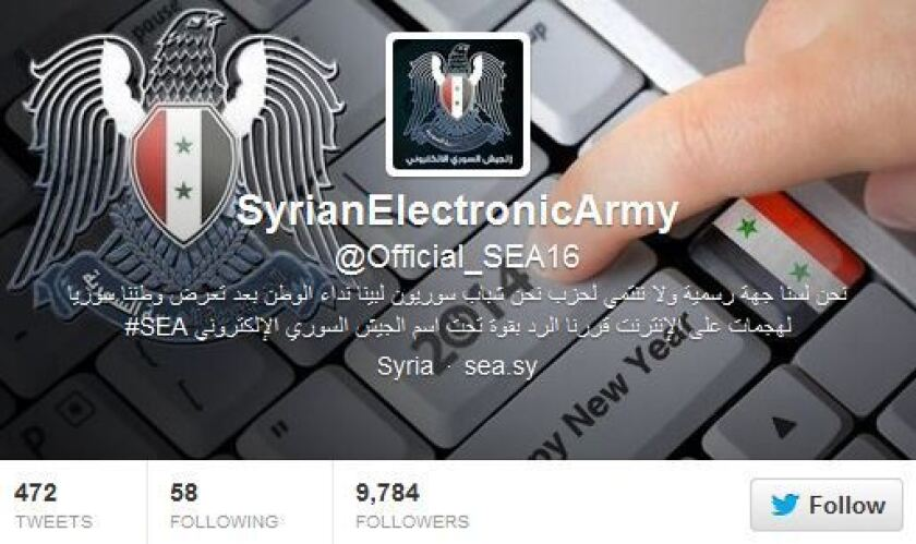 Syrian Electronic Army on Twitter