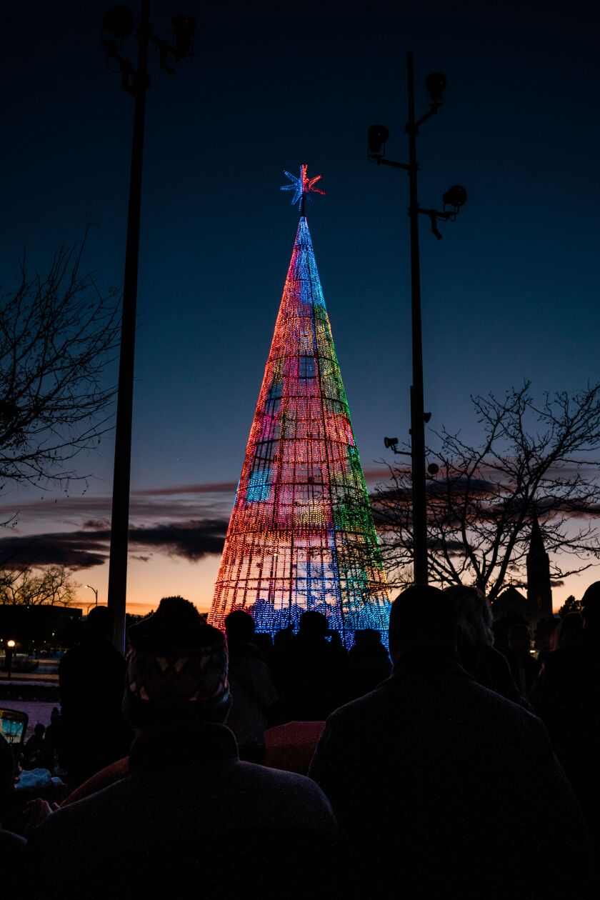 Denver's first Mile High tree will remain open to the public until Jan. 31.