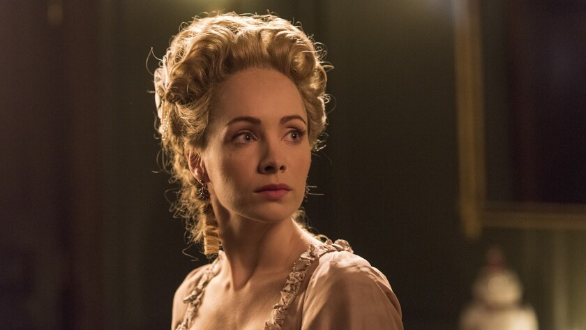 "Ksenia Solo in ""Turn: Washington's Spies"" on AMC"