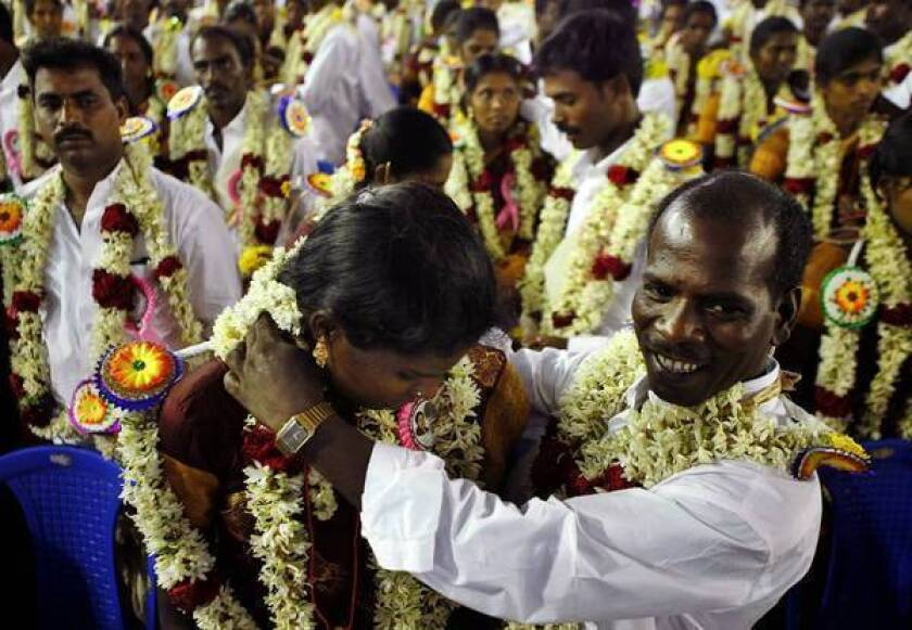 In India, first comes detective work, then comes marriage