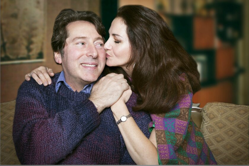 David Ellenstein and Jacquelyn Ritz star in 'Chapter Two' at North Coast Repertory Theatre.